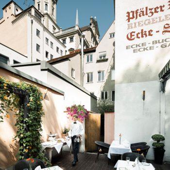 Restaurant Ecke Augsburg - Im Freien sitzen