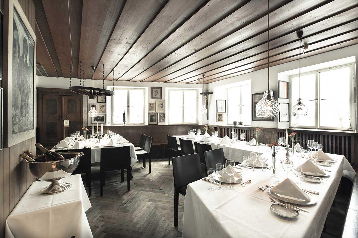 Ecke Restaurant Augsburg - Innenansicht Künstlerstube