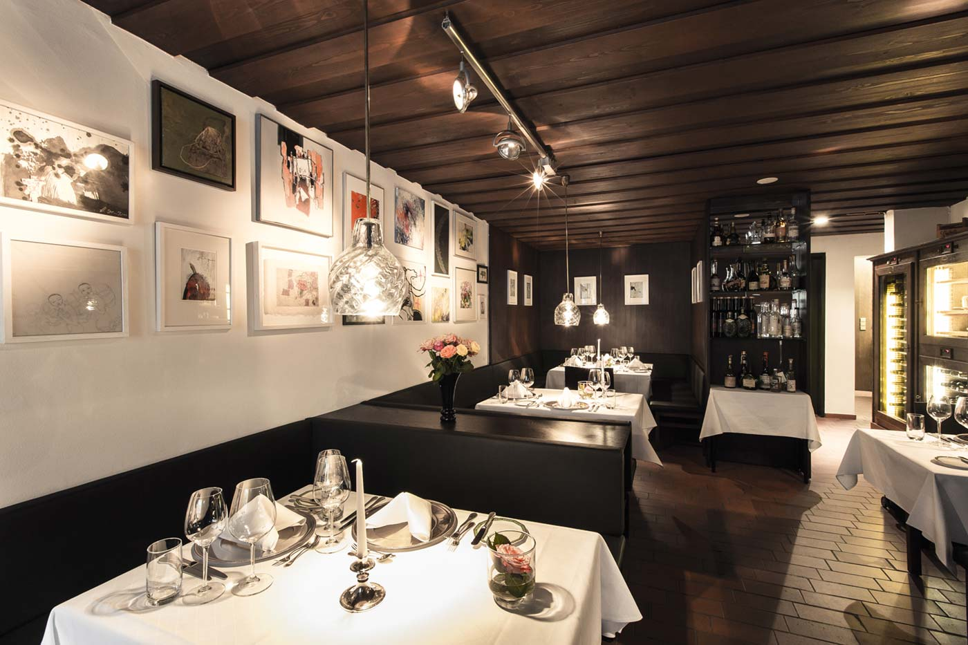 Ecke Restaurant Augsburg - Innenansicht linker Flügel