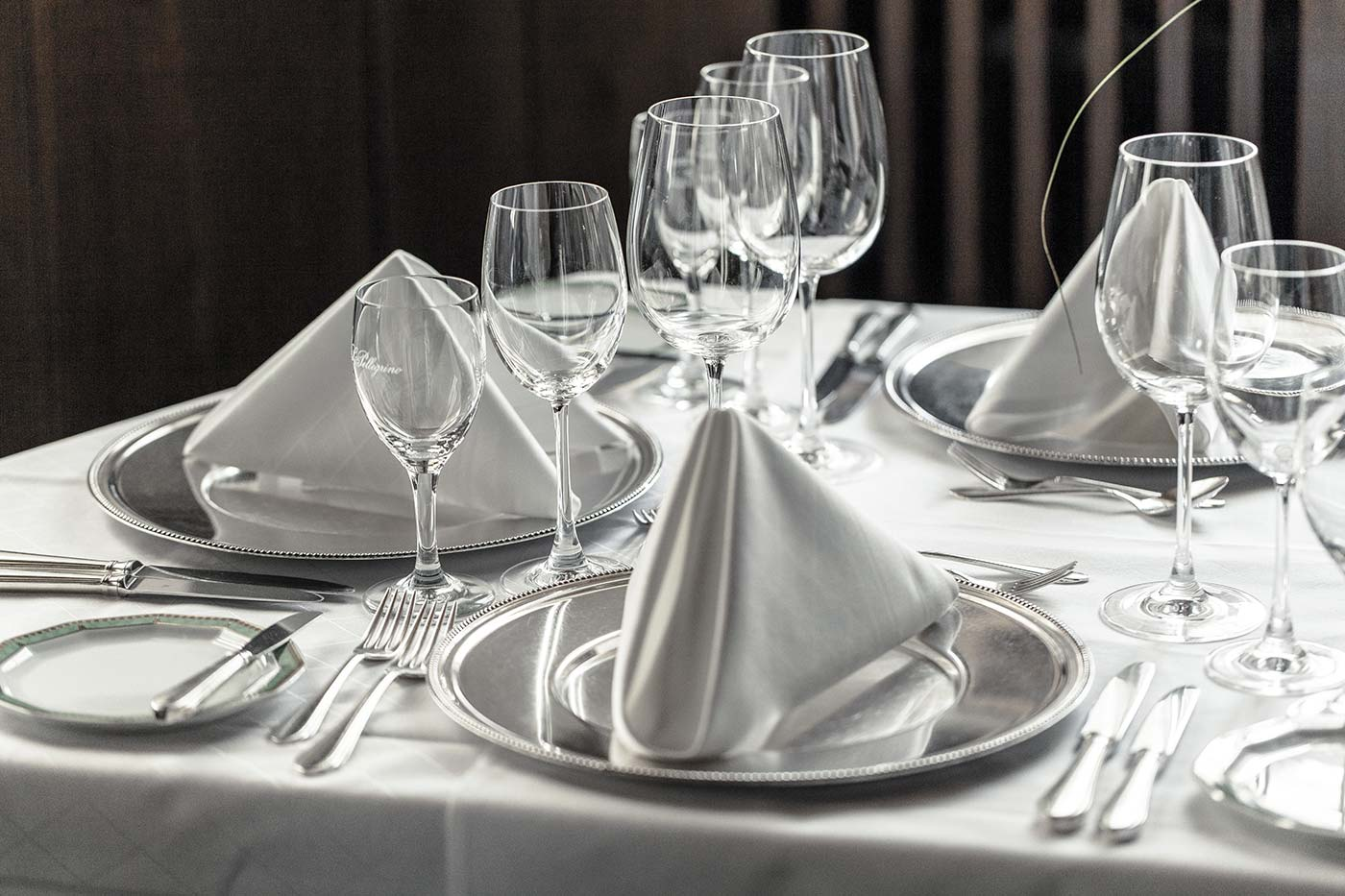Ecke Restaurant Augsburg - gedeckter Tisch
