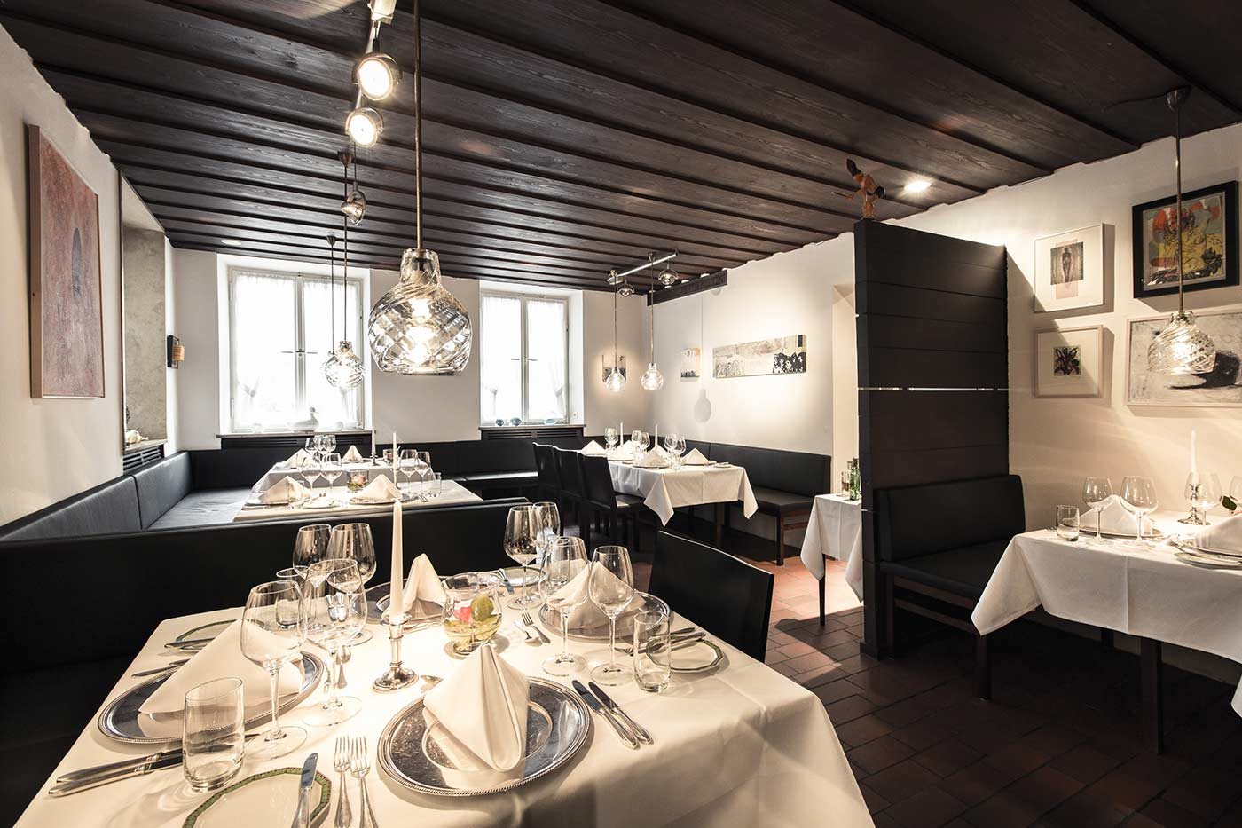 Ecke Restaurant Augsburg - Innenansicht rechter Flügel