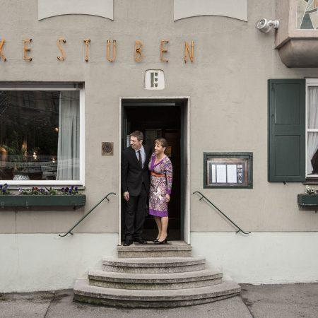 Ecke Restaurant Augsburg - Inhaber Ronald und Rosemarie Dachs